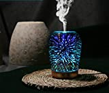 3D Essential Oil Diffuser,100ml Aromatherapy Ultrasonic Cool Mist...