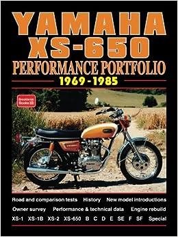 Yamaha xs 650 1969 1985 performance portfolio rm clarke yamaha xs 650 1969 1985 performance portfolio rm clarke 9781855205741 amazon books fandeluxe Images