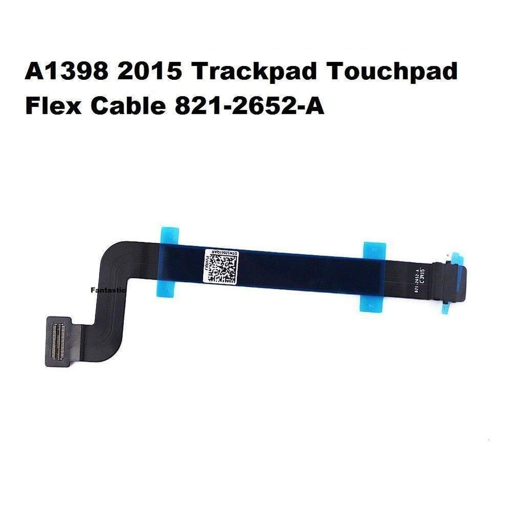 821-2652-A Expert-Parts Replacement Touchpad Trackpad Flex Ribbon Cable for MacBook Pro 15 Retina A1398 Mid 2015 P//N