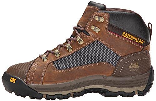 Caterpillar Men's Convex Mid Steel Toe Work Boot, Dark Beige, 11 M US by Caterpillar (Image #5)