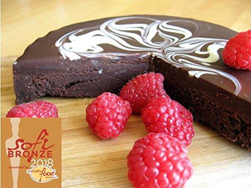 2- Pack Flourless Chocolate Torte (Certified Gluten Free) by Gem City Fine Foods