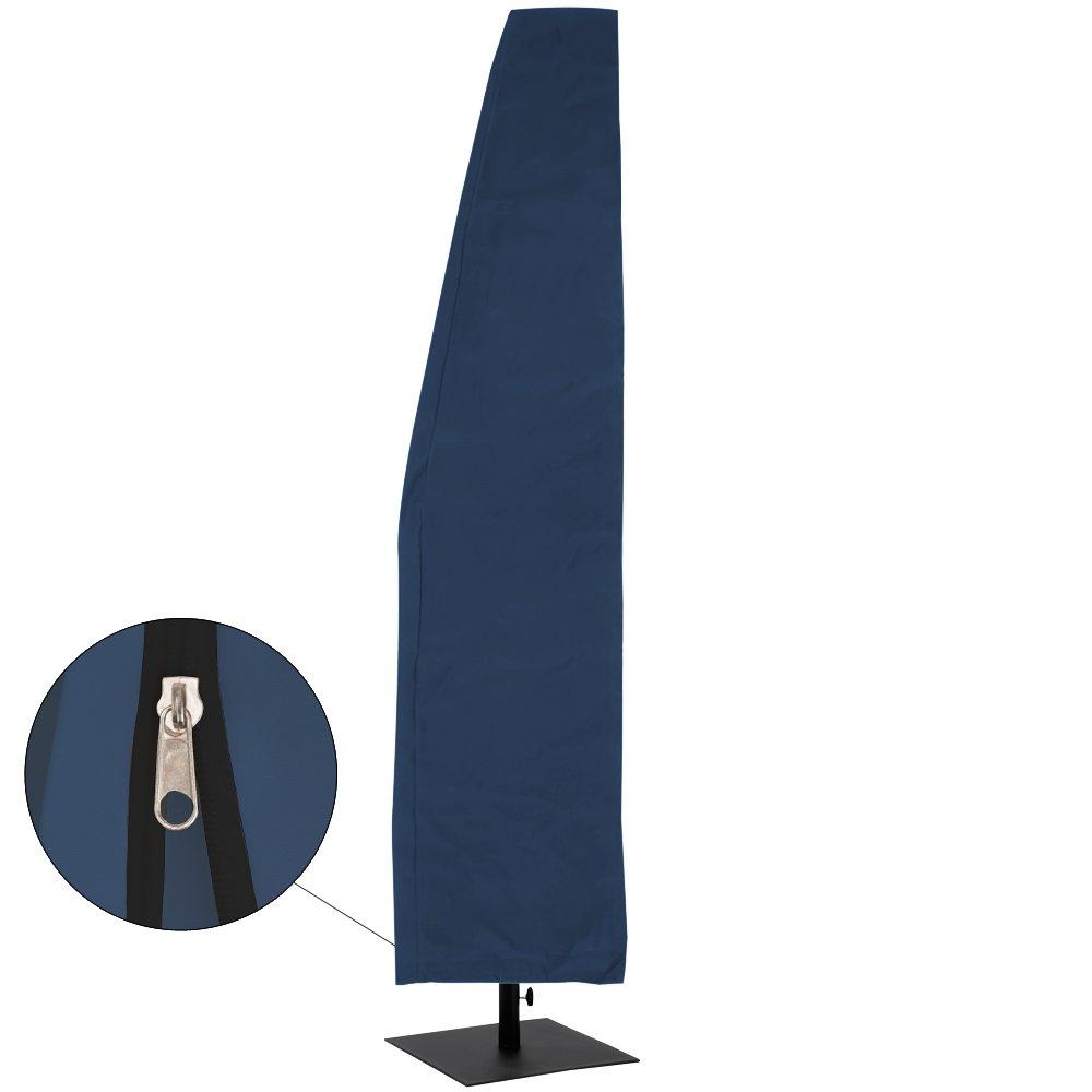 Deuba Parasol Cover 3m Green Garden Cantilever Umbrella Zip Waterproof Breathable 160 g//m/² Polyester