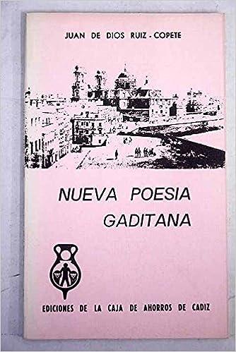 nueva_poesia_gaditana: Juan de.- DIOS RUIZ-COPETE: 9788450060171: Amazon.com: Books