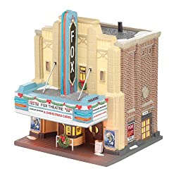 Department 56 Christmas in the City Village The Fox Theatre Lit House, 8.27 inch
