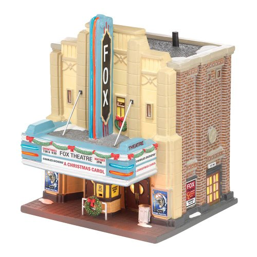 Department 56 Christmas in the City Village The Fox Theatre Lit House, 8.27 inch (Christmas Villages)