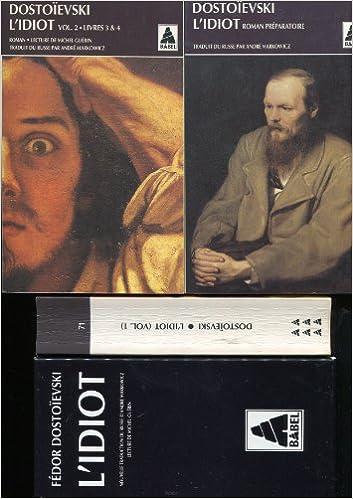 Dostoïevski : L'Idiot (coffret de 3 volumes) pdf
