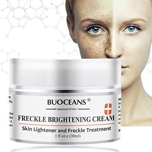 Skin Brightening Cream,Freckle cream,Dark Spot Corrector Remover,Removes Hyperpigmentation Reduces Melasma Lightens by PINPOXE