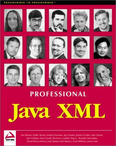 Professional Java XML by Apress