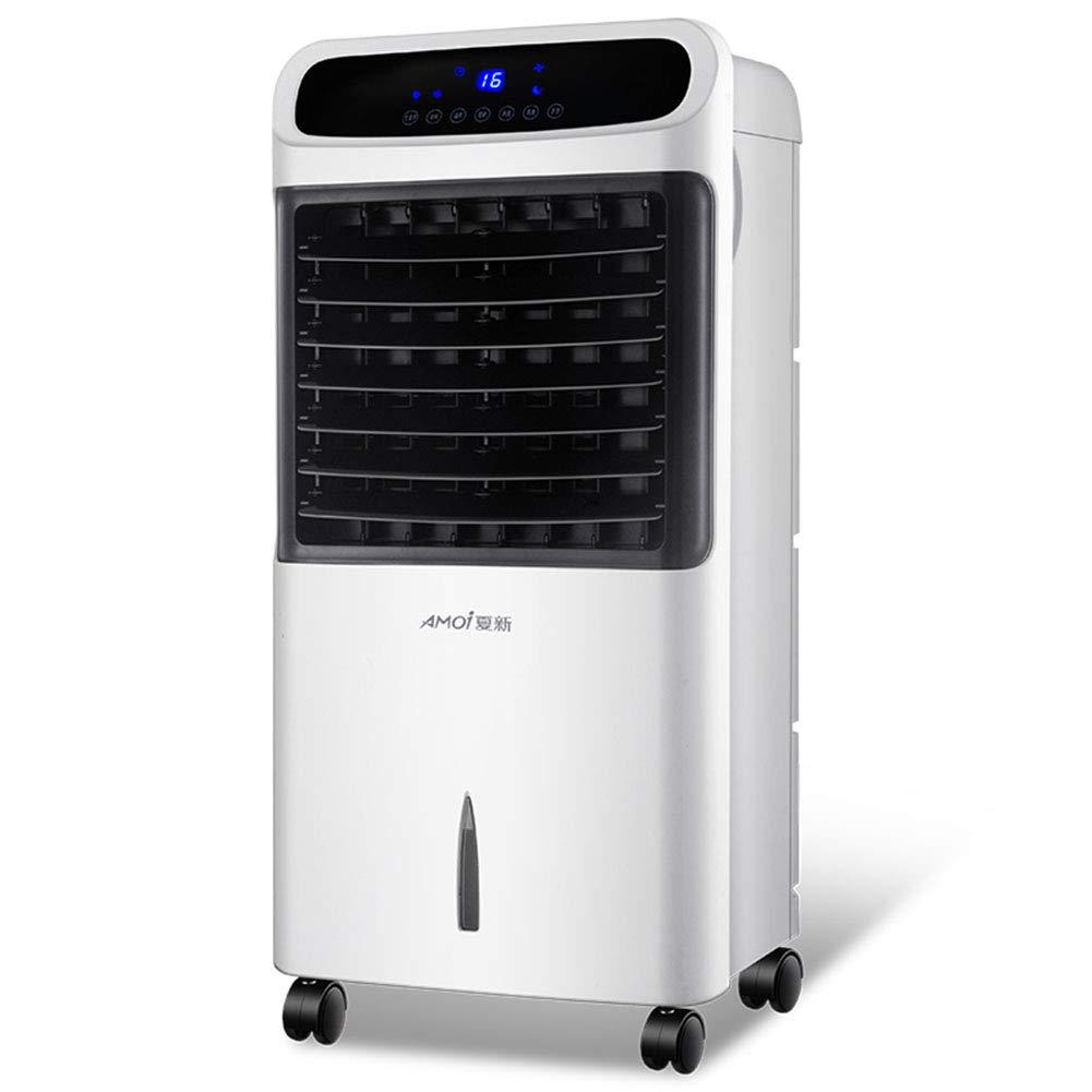 Peaceip 冷暖房二重使用空調ファン、インテリジェントリモコンスーパー省エネ3種類の風速モード7.5時間のタイミング、家庭用水冷小型空調ファン (色 : ブラック) B07QN3619H  ブラック