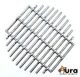 Cheap Aura Outdoor Products Stainless Steel Charcoal Fire Grate for Large Big Green Egg, Kamado Joe, 18in Kamado Regulator