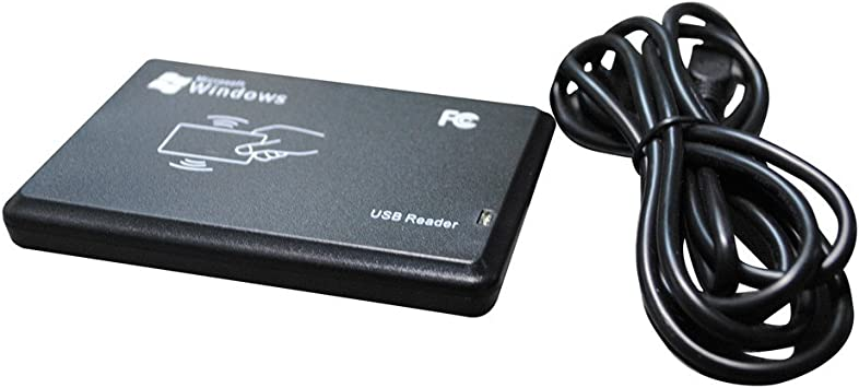 10 OS 7 GEENFC 13.56 Mhz Mifare RFID Reader UID Reading USB 2.0 WinXP 8