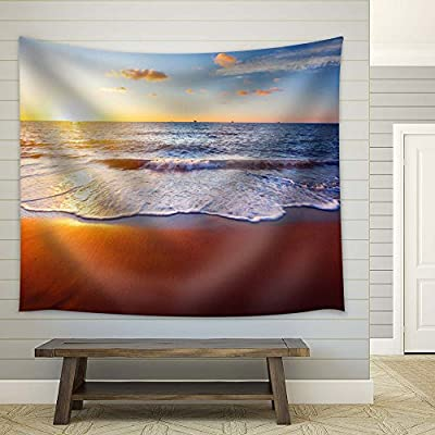 Amazing Work of Art, Beach at Sunset, That You Will Love