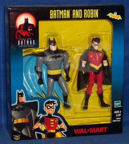 Batman and Robin Exclusive Walmart Action Figure Two Pack