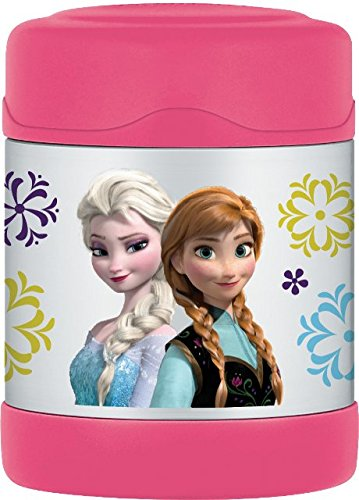 Thermos Funtainer 10 Ounce Food Jar, Frozen Pink