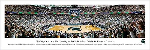 (Michigan State Basketball - Unframed 40 x 13.5 Poster by Blakeway Panoramas)