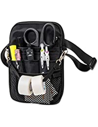 4-in-1 Convertible Nurse Fanny Pack, Silver Hardware