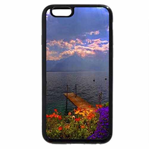 iPhone 6S / iPhone 6 Case (Black) Clouds over the sea