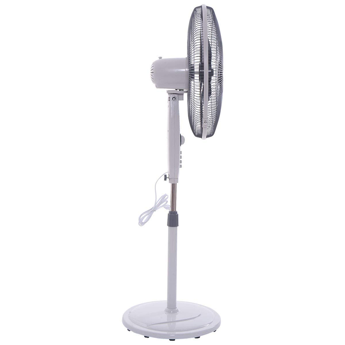 20 Oscillating Standing Floor Fan Apontus
