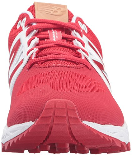 New Balance Mens 3000v3 Baseball Turf Shoes Red/White