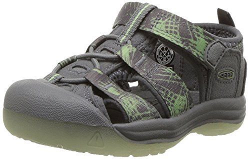 KEEN Toddler (1-4 Years) Newport H2 Steel Grey/Glow Sandal - 7 M US Toddler