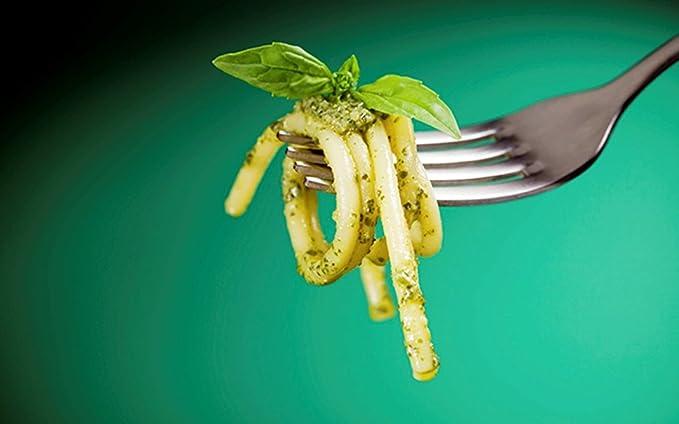 Abert - Cuberteria Italiana de Acero Inoxidable - Tenedor de Mesa - Pack de 6: Amazon.es: Hogar