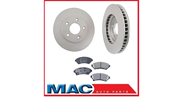 1998 1999 2000 Oldsmobile Intrigue OE Replacement Rotors Metallic Pads R