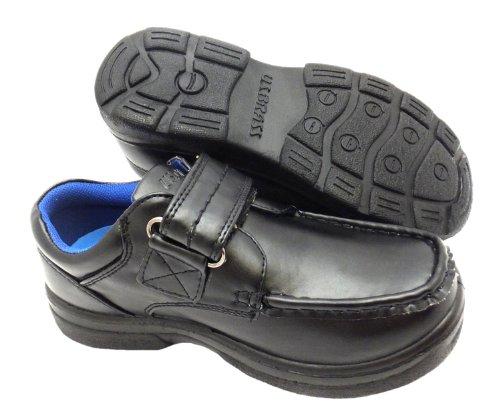 Us Brass  Gamma, Chaussures de ville à lacets pour garçon Noir noir