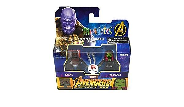 Marvel Minimates Walgreens Avengers Infinity War Movie Wave 2 Drax /& Gamora