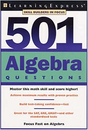 Buy 501albegra Questions and Answers (501 Algebra Questions) Book ...