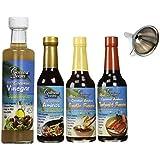 Coconut Secret 4 Piece Sauce and Vinegar Set (4)