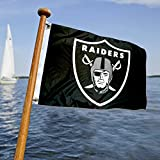 WinCraft Oakland Raiders Boat and Golf Cart Flag