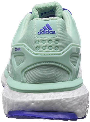adidas Energy Boost ESM W - Zapatillas para mujer Verde / Blanco / Morado