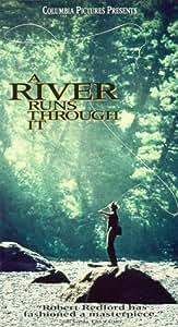 A River Runs Through It [VHS]