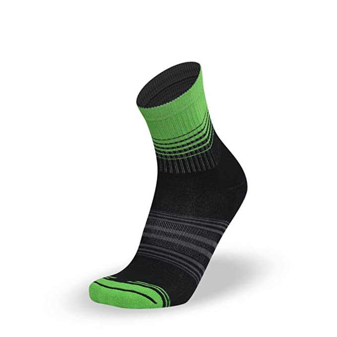LITHE Fresh Lime MenŽs Classic Mid Calcetines Verdes Green Socks: Amazon.es: Ropa y accesorios