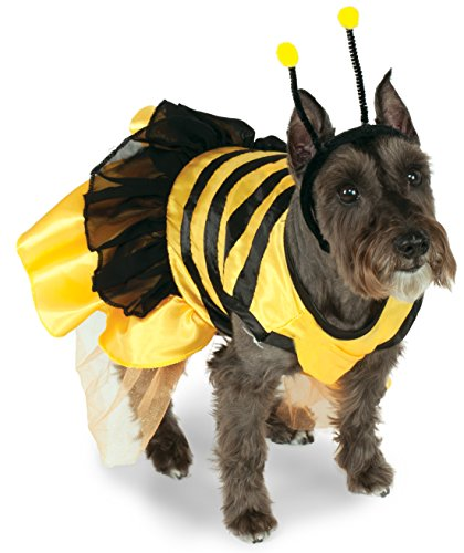Bumble Costume Small Bee Dog (Rubie's Pet Costume, X-Small, Bumblebee)