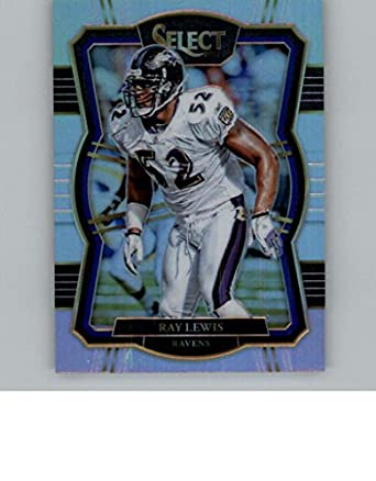 sports shoes d3af3 9f245 Amazon.com: 2017 Panini Select Silver Prizm #132 Ray Lewis ...