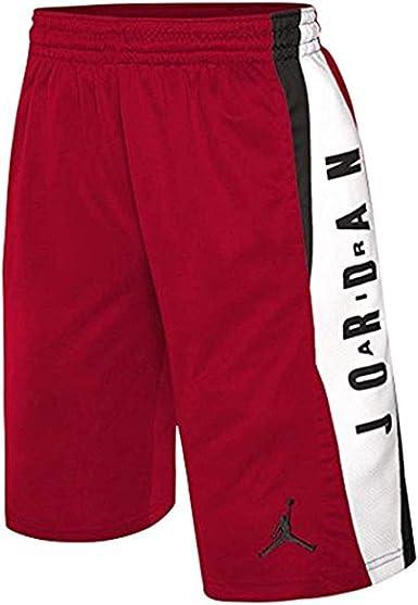 Pigmento Cap Despido  Jordan pantalones cortos deportivos de baloncesto para niños - Rojo -  Medium: Amazon.es: Ropa y accesorios