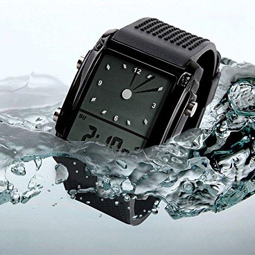 SKMEI Fashion Children LED Sports Digital Analog Waterproof Rubber Wrist Watch