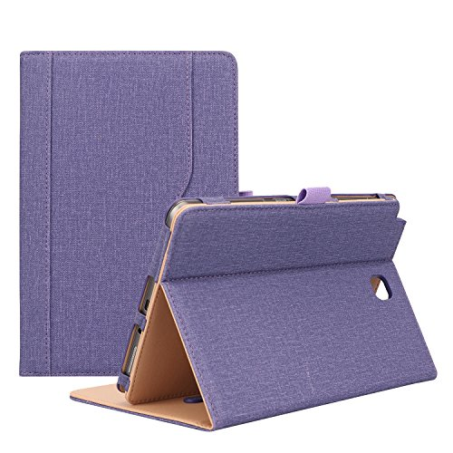 ProCase Samsung Galaxy Tab A 8.0 Case (2015 Old Model) - Standing Cover Folio Case for 2015 Galaxy Tab A Tablet (8.0 inch, SM-T350 P350) -Purple