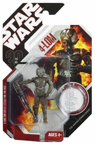 Hasbro Star Wars 30Th Anniversary 4-Lom (Super-Articulated)