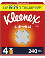 Kleenex Anti-Viral Facial Tissues, Cube Box