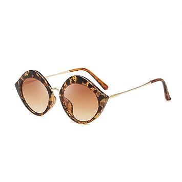 MQW Gafas De Sol UV400 Gafas De Sol Redondas para Mujeres ...