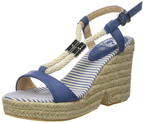 CASSIS COTE D'AZUR WoMen Lolanna Sandals Blue (Bleu)