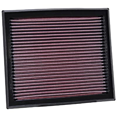 K&N Engine Air Filter: High Performance, Premium, Washable, Replacement Filter: 2004-2016 Volvo/Ford (S60, S60 Cross Country,V40, V60, XC60, XC70, C70 II, V40 CII, Kuga, Modeo IV), 33-2873: Automotive