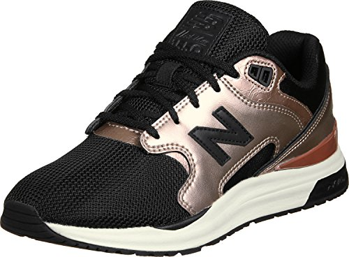 New Balance WL 1550 MC Metallic Rosegold Black negro oro