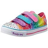 Skechers Little Kid (4-8 Years) Twinkle Toes: Chit Chat-Prolifics Multi Light-Up Sneaker - 2 M US Little Kid