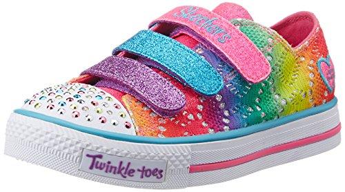 Skechers Little Kid (4-8 Years) Twinkle Toes: Chit Chat-Prolifics Multi Light-Up Sneaker - 3 M US Little Kid