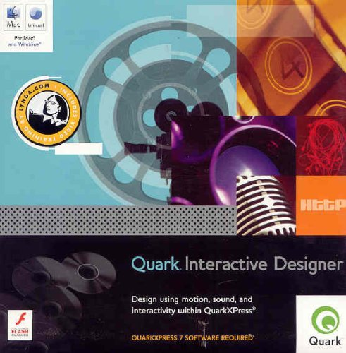 Used, QUARK INTERACTIVE DESIGNER FULL MAC/WIN QUARKXPRESS for sale  Delivered anywhere in USA