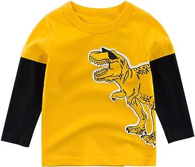Berimaterry Camiseta de Manga Larga Bebé Niñas Top Camisetas de ...