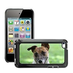 Etui Housse Coque de Protection Cover Rigide pour // M00108459 Perro África Animal Limpopo // Apple ipod Touch 4 4G 4th